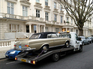 Car recovery service London -